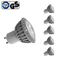 LE Pack of 5 Units 5W GU10 LED Bulbs, 50W Equivalent, Perfect Standard Size, Warm White, Recessed…
