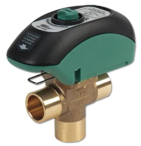 Taco - V100C3G1ZA024Q4A1 - Zone Valve, 3 Way, Open System, 1 In Sweat