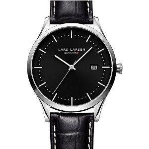 腕時計 Lars Larsen 119SBLBL Alex Steel All Black Watch【並行輸入品】