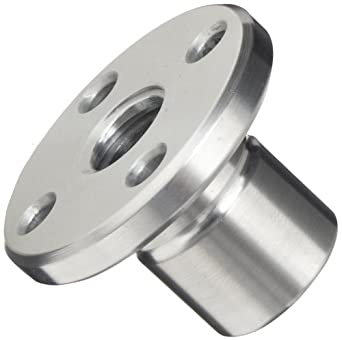 THK Lead Screw Nut Model DCM14, 22mm Outer Diameter x 30mm Length, 44mm Flange Diameter, Load Capacity: 1102 Pound-Force