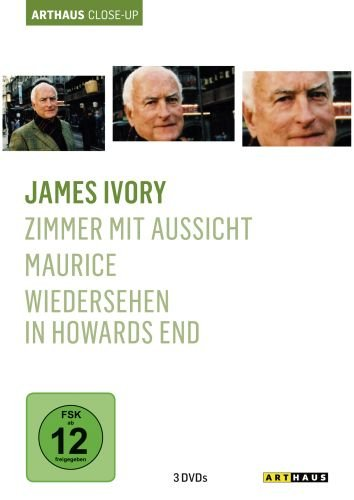 James Ivory collection (Zimmer mit Aussicht / Maurice / Wiedersehen in Howards End ) [3 DVDs]
