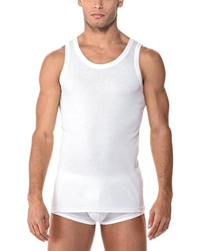 Cotonella Pack x 3 Camisetas Interiores 3 Canotta Spalla Larga Uomo In Cotone Bielastico Extrafine