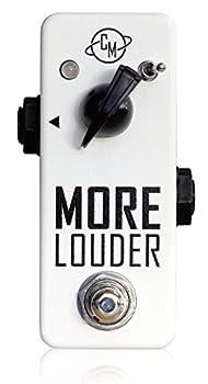 Cusack Music More Louder シンプルでバッファーとしても使えるクリーンブースター キューザックミュージック モアラウダー 国内正規品