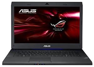 Asus G73JH-TZ227V 43,9 cm (17,3 Zoll) Notebook (Intel Core i7 740QM, 1,7GHz, 8GB RAM, 1TB HDD, ATI HD 5870, Blu-ray, Win7 HP) schwarz