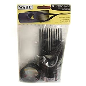 WAHL HAIR DRYER COMB PIK ATTACHMENT NEW SEALED Amazonco
