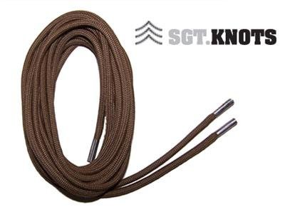 """SGT KNOTS® Paracord Boot Laces - Coyote Brown - 54"""""""