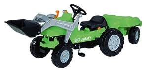 BIG - 80 005 6525 - Tracteur et remorque - Vert - Big Jimmy