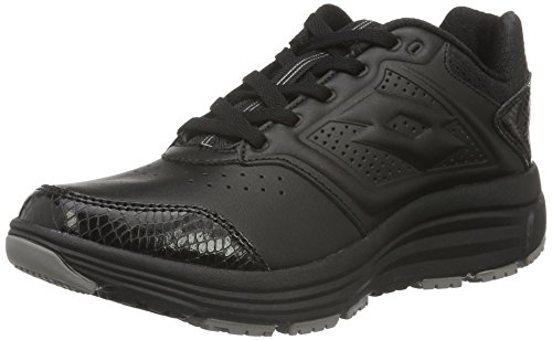 Lotto Sport Love Ride Lth Amf W, Scarpe Running Donna, Nero (Blk/Tit Gry), 38 EU