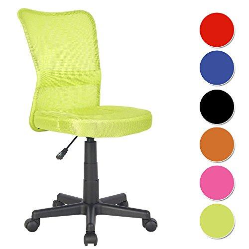 SixBros. Sedia ufficio sedia girevole verde - H-298F/2066