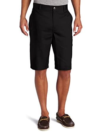 Lee Uniforms Men's Utility Short, Black, 28