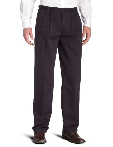 Dockers Men's Big & Tall True Khaki Pleated Pant,Deepsea,46x30