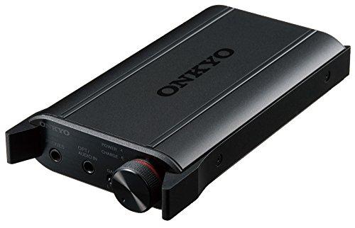 ONKYO DAC-HA200(B) ポータブルヘッドホンアンプ DAC搭載 ハイレゾ音源対応 ブラック