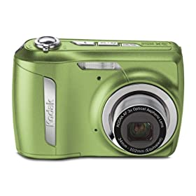 Kodak EasyShare C142 10MP Digital Camera with 3x Optical Zoom and 2.5 Inch LCD (Green)