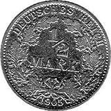 1/2 Mark Imperio Alemán, 1905 A (Jäger: 16) MBC