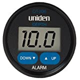 Uniden QT-206W Digital Depth Finder Transom Transducer