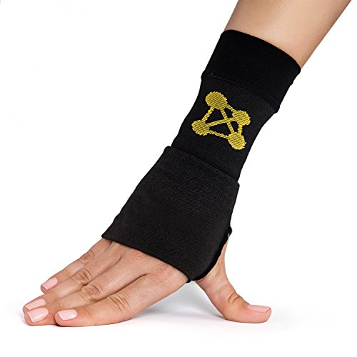 CopperJoint-Copper-Wrist-Support-1-Compression-Sleeve-GUARANTEED-Recovery-from-Pain-Sprains-Carpal-Tunnel-Bursitis-Tendonitis-Arthritis-Single