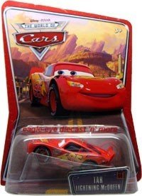 Amazon.com: Disney Pixar Cars Tar Lightning McQueen World of Cars 1:55