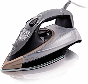 Philips Azur GC4870/02 Steam Iron, 2600 Watt, Brown/Gold