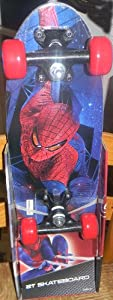 Buy Spiderman Street Flyers 21-Inch Skateboard, Multi Color by Spiderman