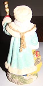 The International Santa Claus Collection Grandfather Frost Russia Christmas Holiday Figurine 1993 Sc12