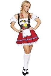 Fraulein Sweetheart Costume - Medium/Large - Dress Size 6-10
