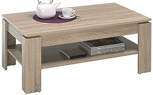 trendteam 1100-112-95 Couchtisch Wohnzimmertisch Tisch ...