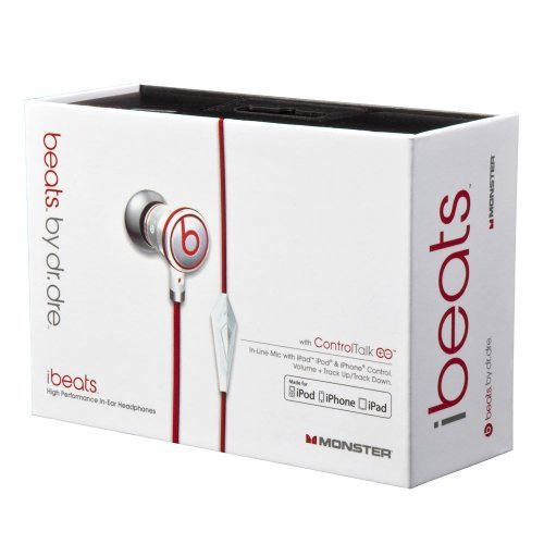 Monster Ibeats Headphones With Controltalk - Box Is Not Included.