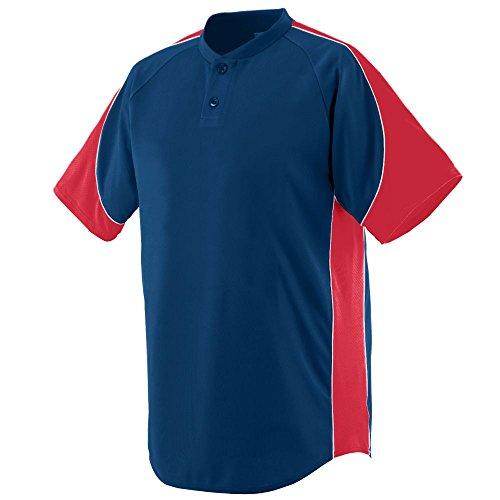 Augusta Sportswear 1531 Boy's Blast Jersey Navy/Red/White L