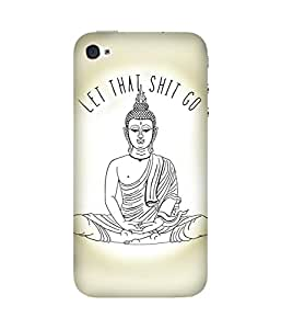 Let Go Apple iPhone 4/4S Case