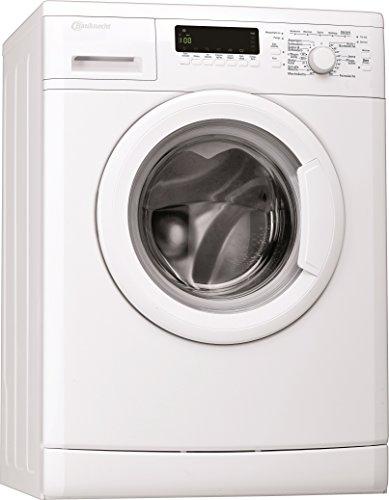Bauknecht WA Care 824 PS Waschmaschine FL / A+++ / 137 kWh/Jahr / 1400 UpM / 8 kg / Unterbaufähig /Dosieranzeige und EcoMonitor / weiß