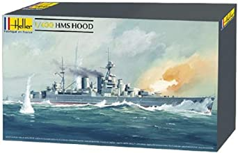 Heller HMS Hood Royal Navy Boat Model Building Kit
