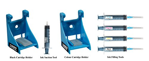 Turbo tool kit for ink filling, cartridge Head Cleaning/Ink Suction for Canon 810/811 Cartridge  available at amazon for Rs.420
