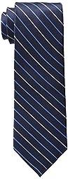 Tommy Hilfiger Men\'s Thin Stripe Tie, Navy, One Size
