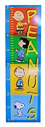 PEANUTS Growth Chart - Featuring Snoopy, Charlie Brown, Lucy & Linus