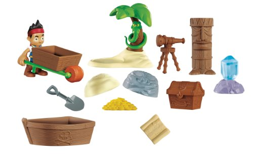 Fisher-Price Disney's Jake and The Never Land Pirates: Never Land Treasure Pack - 1