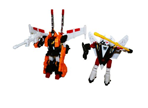 Quick Change Robot System ~ 2 Pack Defender Robots (Yellow & Red Robots)