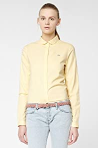 L!VE Long Sleeve Color Chambray Woven Shirt