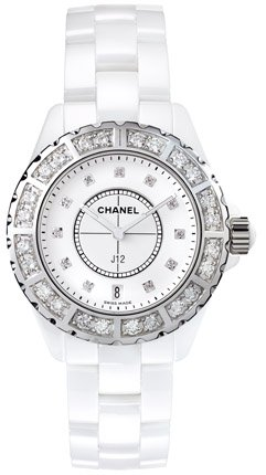 NEW CHANEL CERAMIC LADIES 33MM WATCH H2429 J12