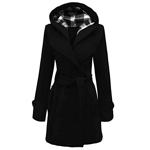 Home ware outlet -  Cappotto  - Donna Nero  nero