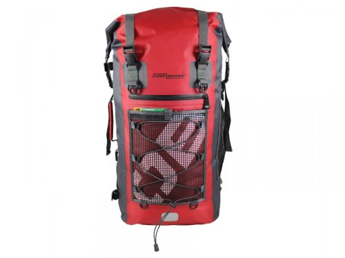B00FUZ48AI OverBoard Ultra Light Backpack, 50-Liter, Red