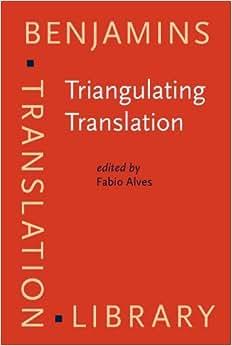 (Benjamins Translation Library) (9789027216519): Fabio Alves: Books