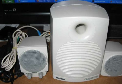 Boston Acoustics Ba735 Digital Speakers Sub-Woofer