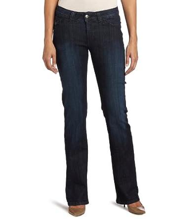 f7cb8c2dc0598 Lee Women s Misses Slender Secret Scarlett Barely Bootcut Jean