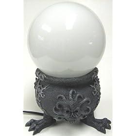 Creepy Demon Cauldron Globe Accent Lamp Wicked
