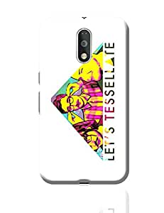 PosterGuy Moto G4 Plus Covers & Cases - Let's Tessellate Alt-J Inspired Pop Art | Designed by: Rhea Ahuja