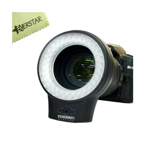 Yongnuo Wj-60 Macro Photography Ring Led Light For Canon , Nikon , Samsung , Olympus , Jvc , Pentax Digital Cameras