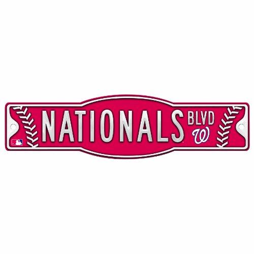 MLB Washington Nationals 4.5-by-17 Sign