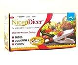 JML Nicer Dicer - EFFORTLESSLY DICES, SLICES AND JULIENNES