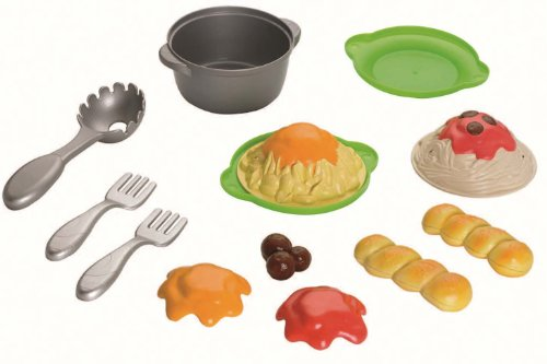 Fisher-Price Servin' Surprises Cook 'N Serve Kitchen: Spaghetti Set front-10386