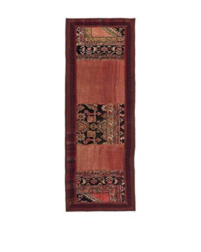 QURAMA Alfombra Persian Classic Patchwork Rojo/Multicolor 189 x 65 cm